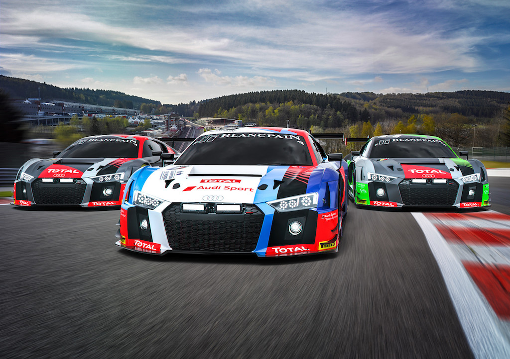 Im Sainteloc-Audi in Spa